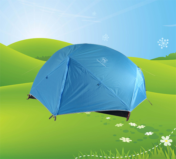 Double wall camping tent