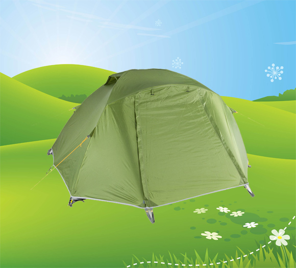 Ultralight waterproof double wall camping tent